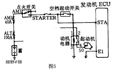发动机怠速控制原理:   efi主继电器端子3的电流分两路流向高清图片