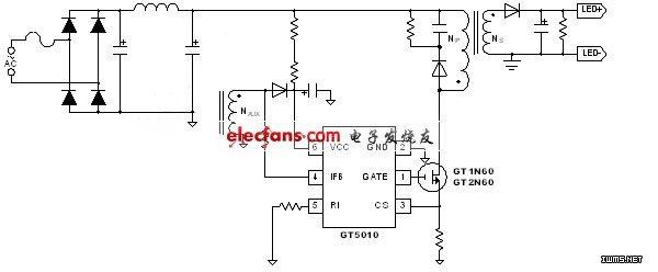 led線路示意圖.(電子系統設計)