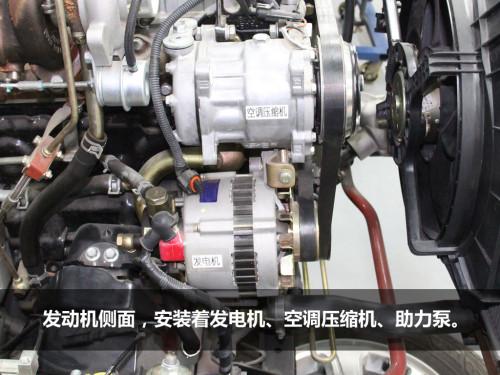 汽车发动机内部主要部件详解高清图片