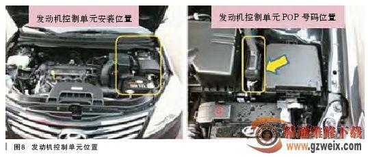 北京现代悦动发动机故障灯亮