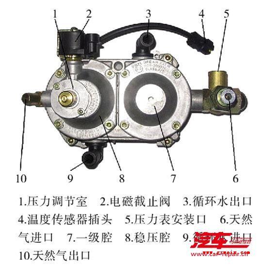 名馭雙燃料發動機故障維修實例
