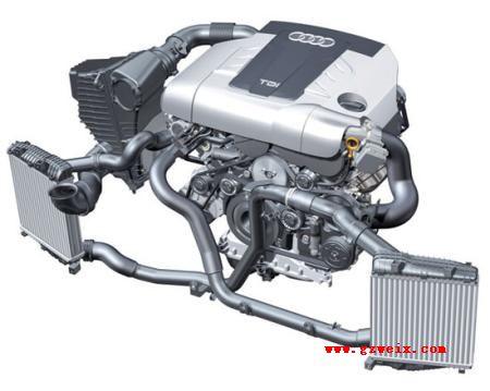 解析大众奥迪A6L 2.7TDI轿车柴油发动机系统技