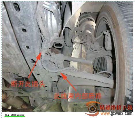 电子悬挂控制系统使用一个位于排量单元外部旁路的比例阀,通过电流图片