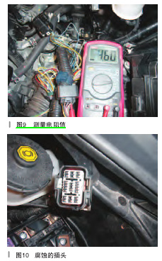 检修本田思域d挡指示灯闪烁故障 高清图片