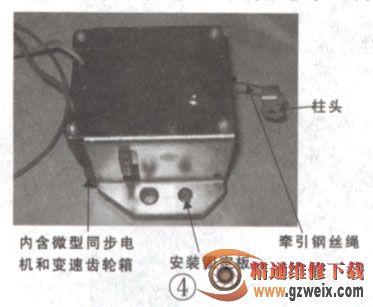 检修全自动洗衣机排水系统器件结构与常见故障