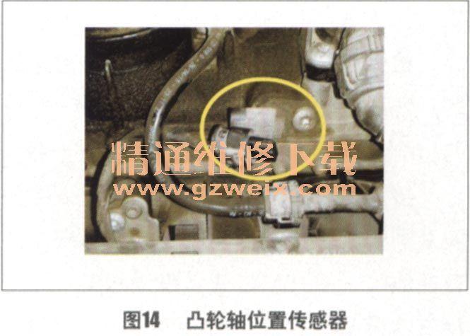 途观凸轮轴调节阀故障导致发动机抖动