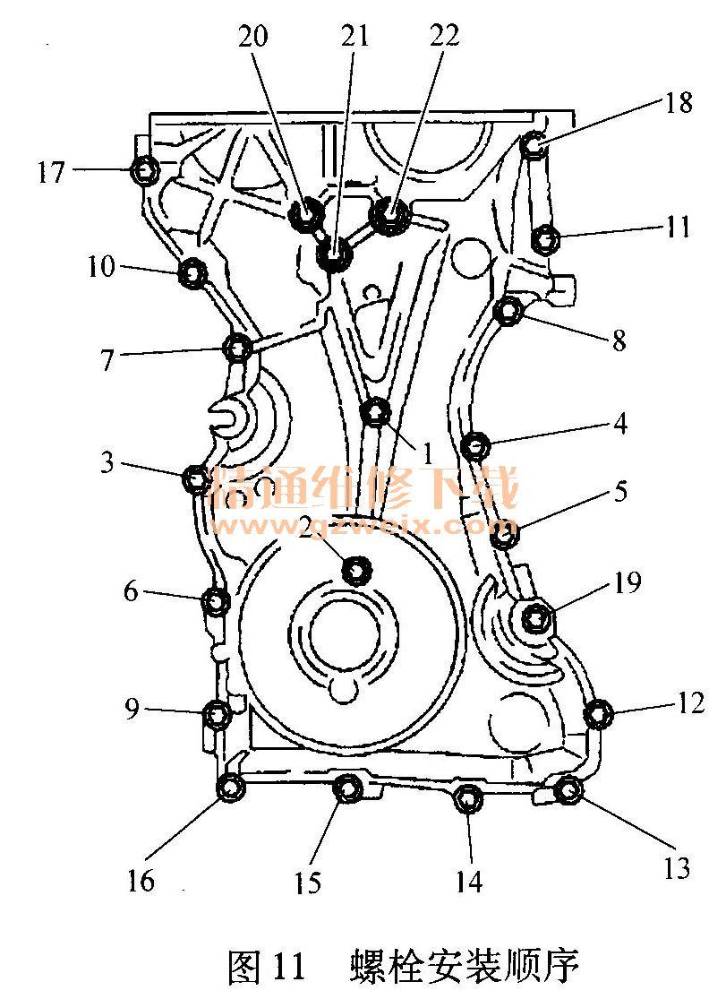 马自达(mazda)mx 5 2 0l发动机正时校对方法 精通维修下载