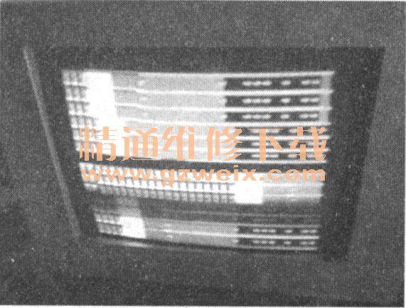 长虹PF25156广告,一开始彩电上偶尔出现乱码illustrator屏幕图纸做图片