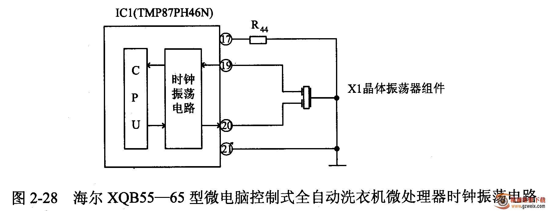 海尔xqb55-65型微电脑控制式全自动洗衣机按键不起作用且指示灯不亮且