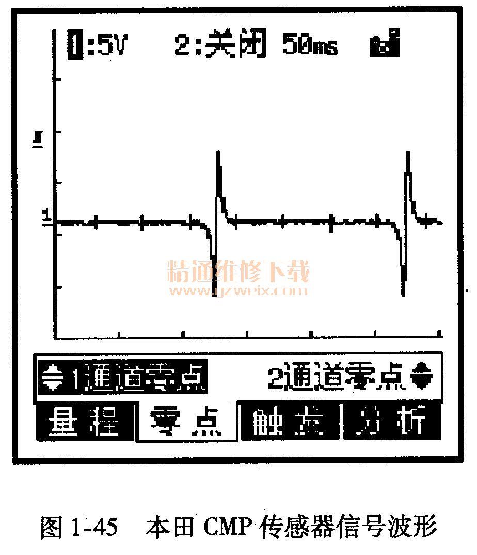 本田cd5分电器线路图
