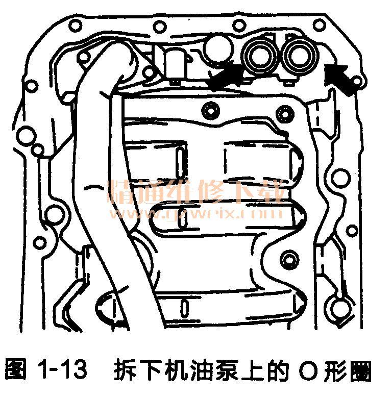 丰田锐志 皇冠发动机正时链条的拆卸高清图片