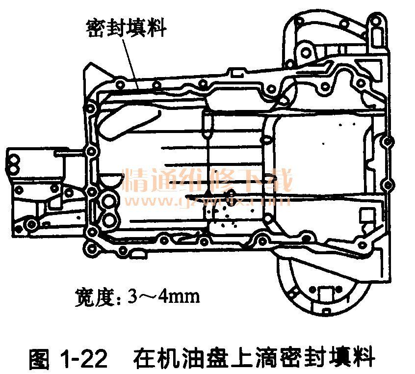 丰田锐志 皇冠发动机正时链条的安装高清图片
