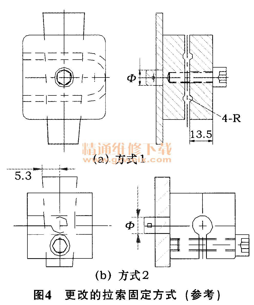 目前使用的钢丝拉索有2种结构