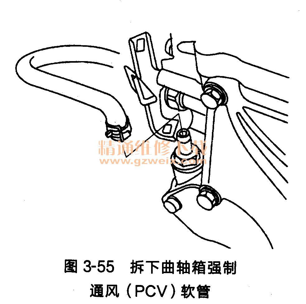 本田锋范发动机 l 15a7 l 18a 1型 正时链条的拆卸