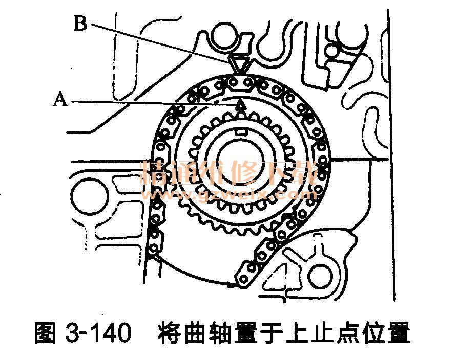 本田思铂睿发动机(k24z3型)正时链条的安装方法图片