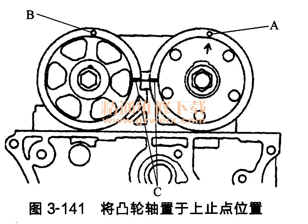 本田思铂睿发动机(k24z3型)正时链条的安装方法