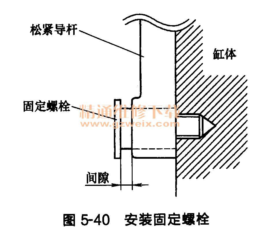 日产天籁发动机正时链条的安装高清图片