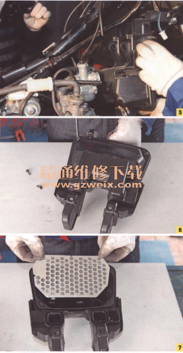 诊断与排除弯梁摩托车典型故障《上)