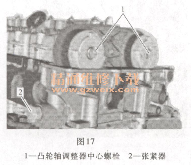 n54b30)发动机正时校对方法