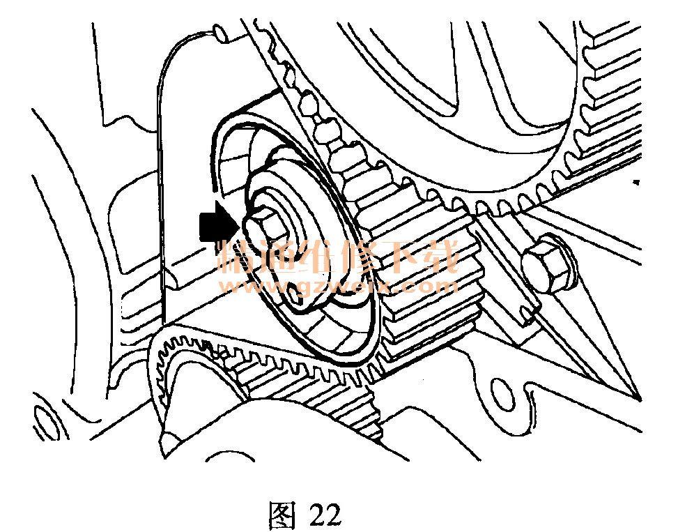 荣威350正时怎么对 标致307正时怎么对 奇瑞瑞虎正时怎么对高清图片