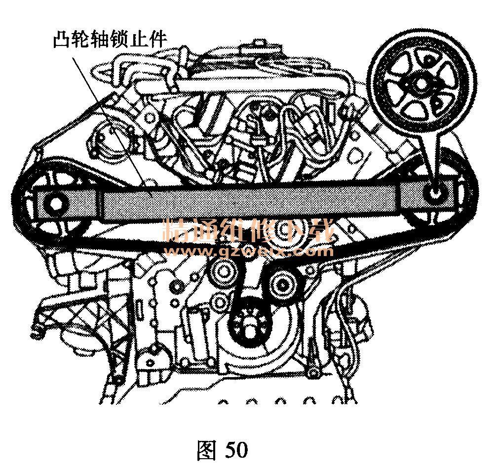 海马骑士发动机正时图展示