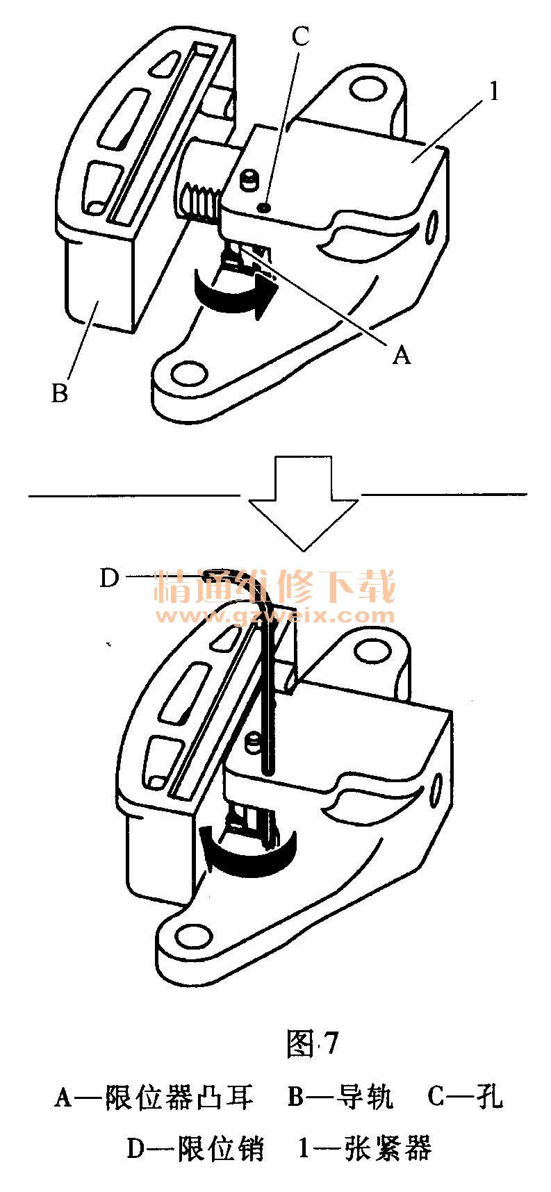 日产奇骏(2.5l qr25de)发动机正时校对方法