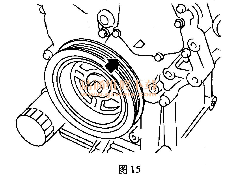 6发动机正时图展示