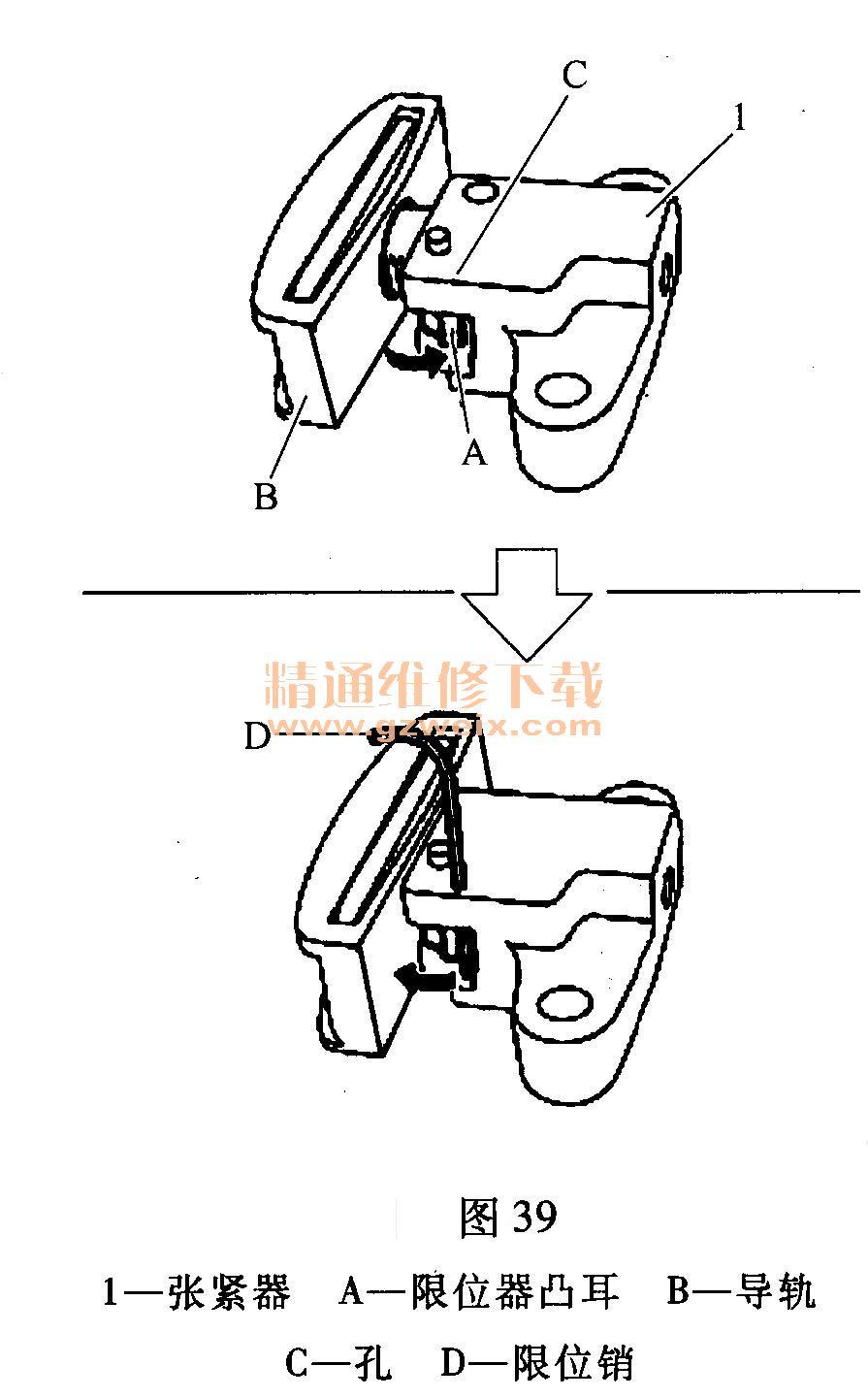 日产奇骏(2. 0l mr20de)发动机正时校对方法