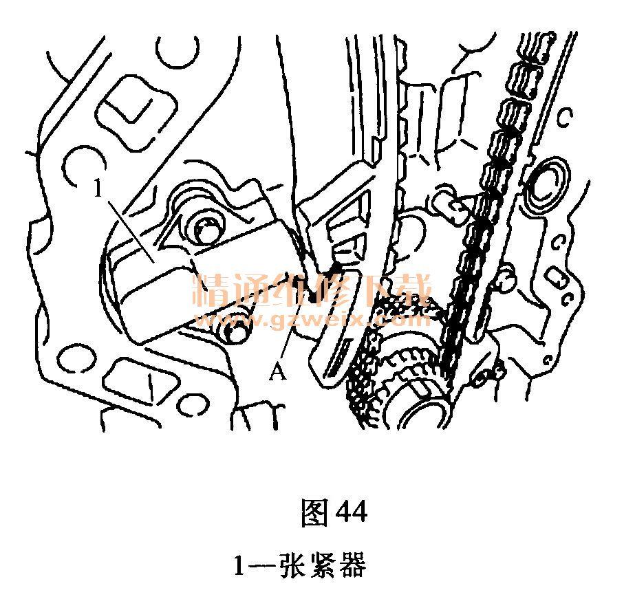 mr20de)发动机正时校对方法