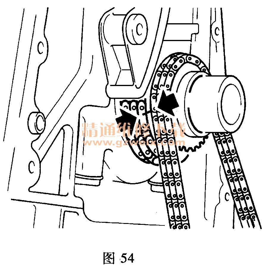 荣威 w5 3. 2l g32d 发动机正时传动带 拆装 方 上汽 荣威高清图片