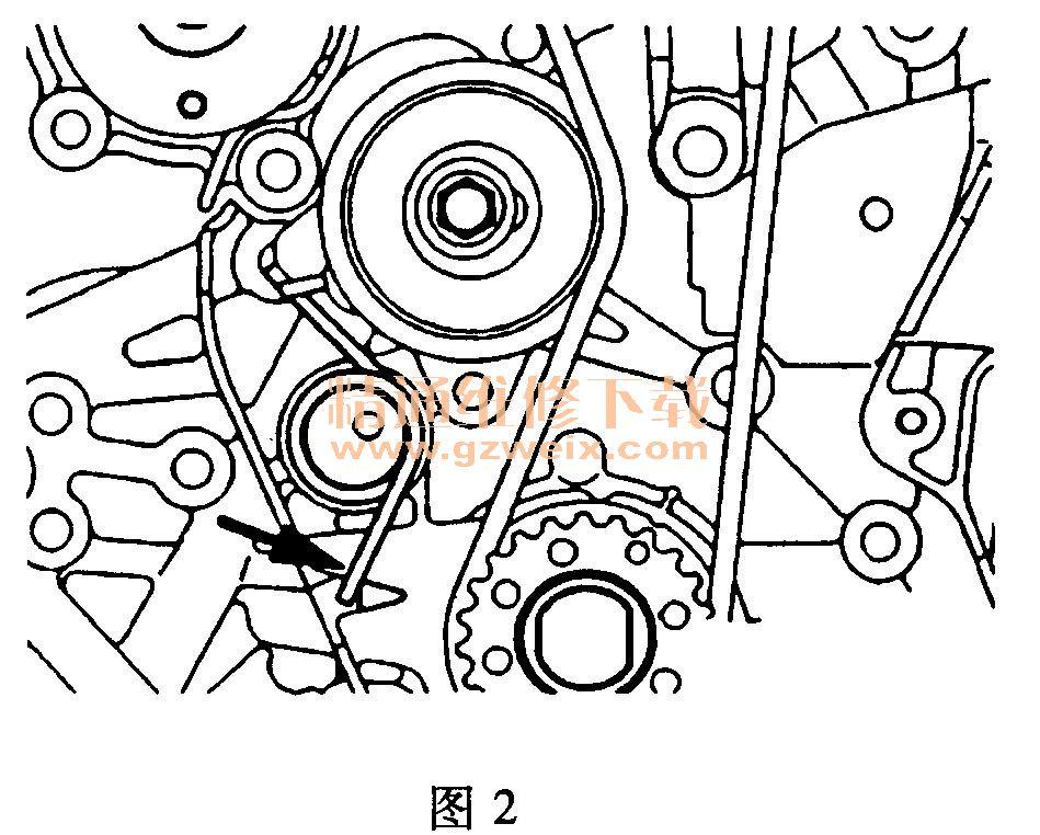 粉笔盒简笔画-比亚迪F3 4G18 4G15S 发动机正时传动带拆卸方法