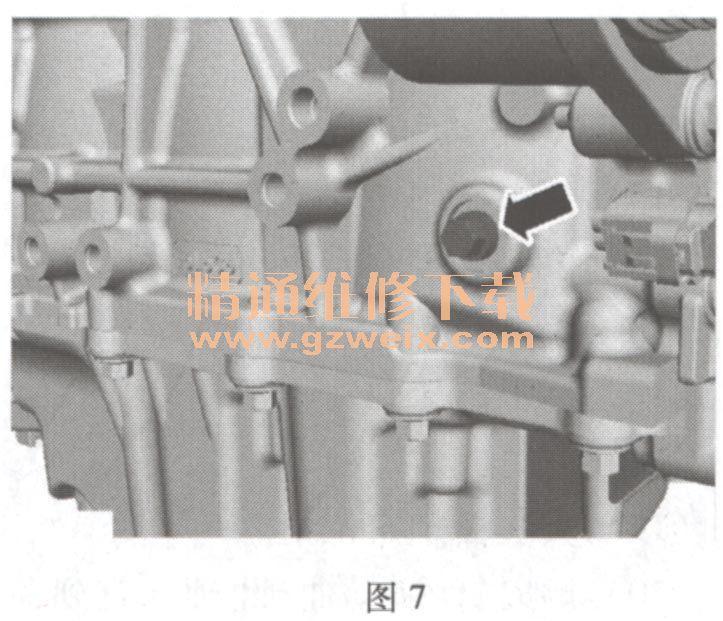 福特蒙迪欧致胜 2. 0 L Duratec H 发动机正时校对方法高清图片