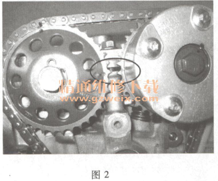 海马2 4A9系列 发动机正时链条安装方法高清图片