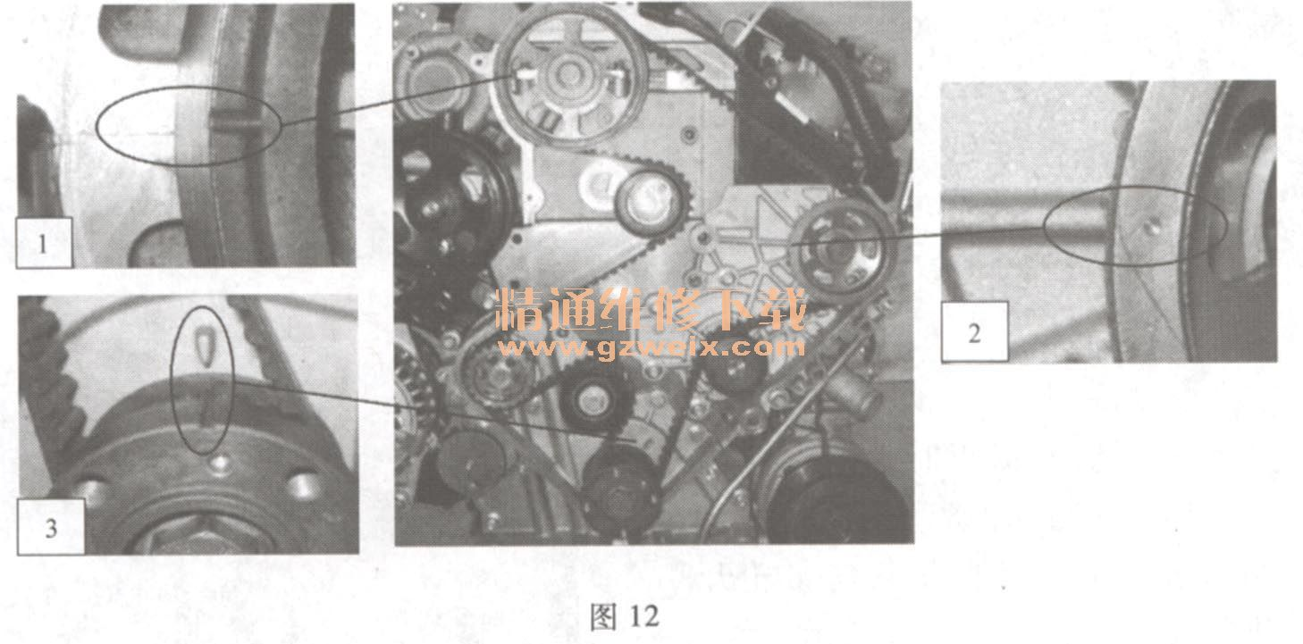 D20 发动机正时链条安装方法