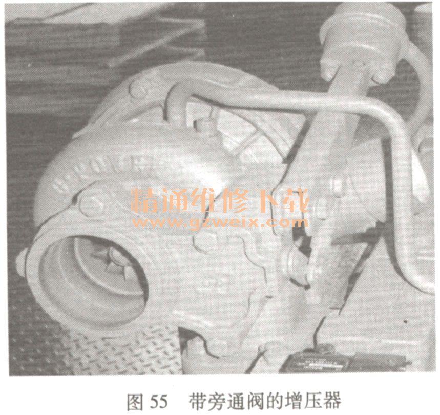 潍柴wd615(国iii )egr发动机的结构