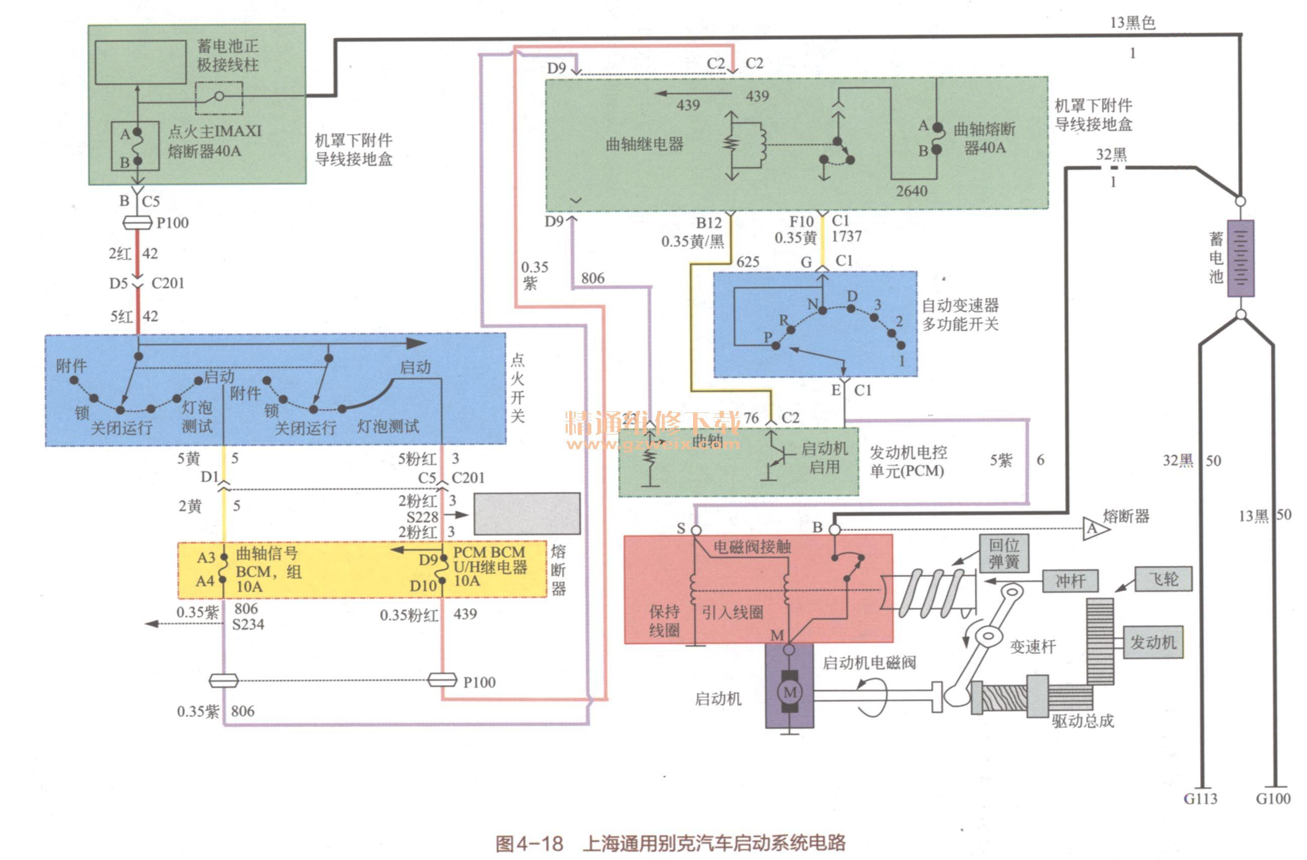 新手篇—轻松看懂汽车电路图(中)