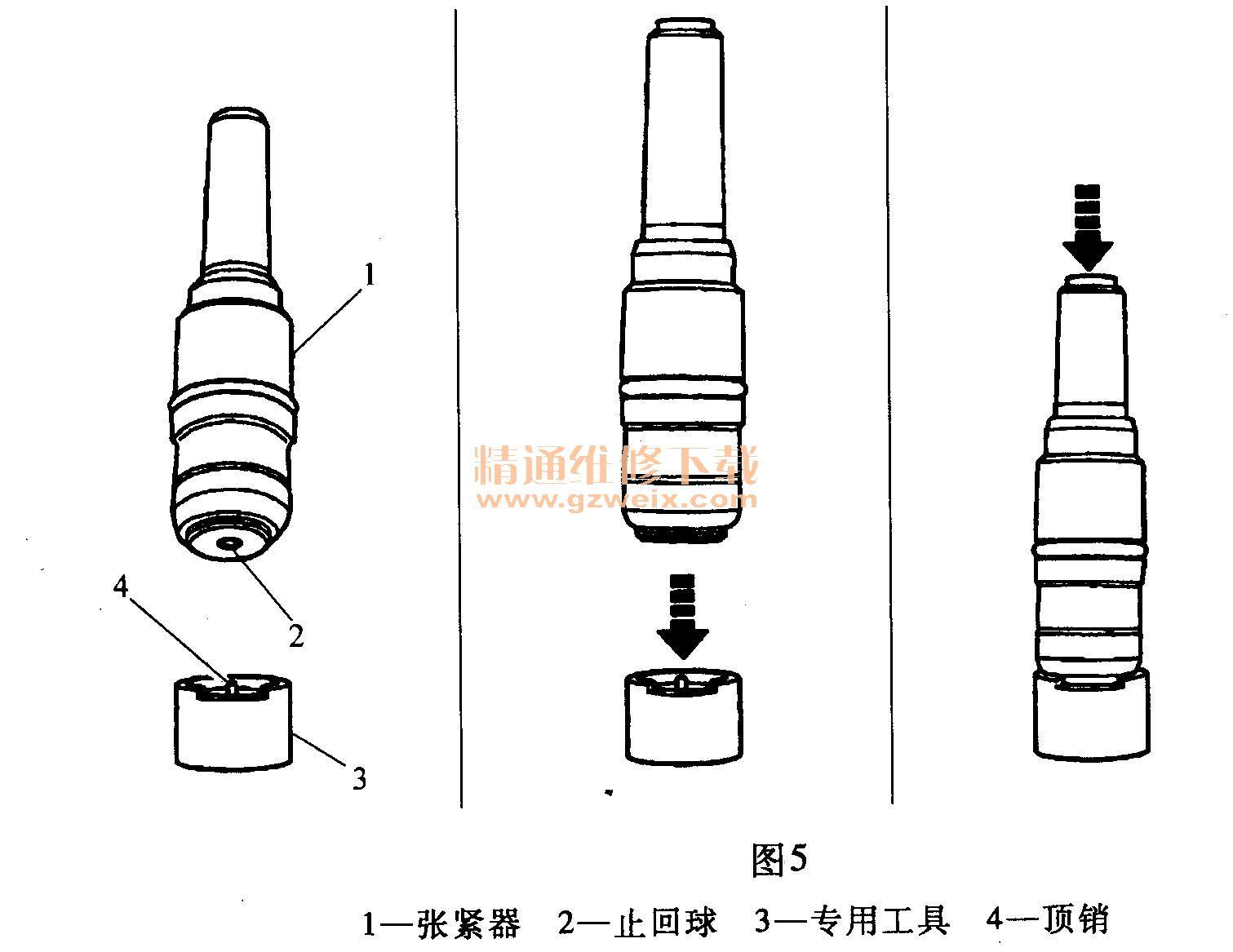 v6)发动机正时校对方法
