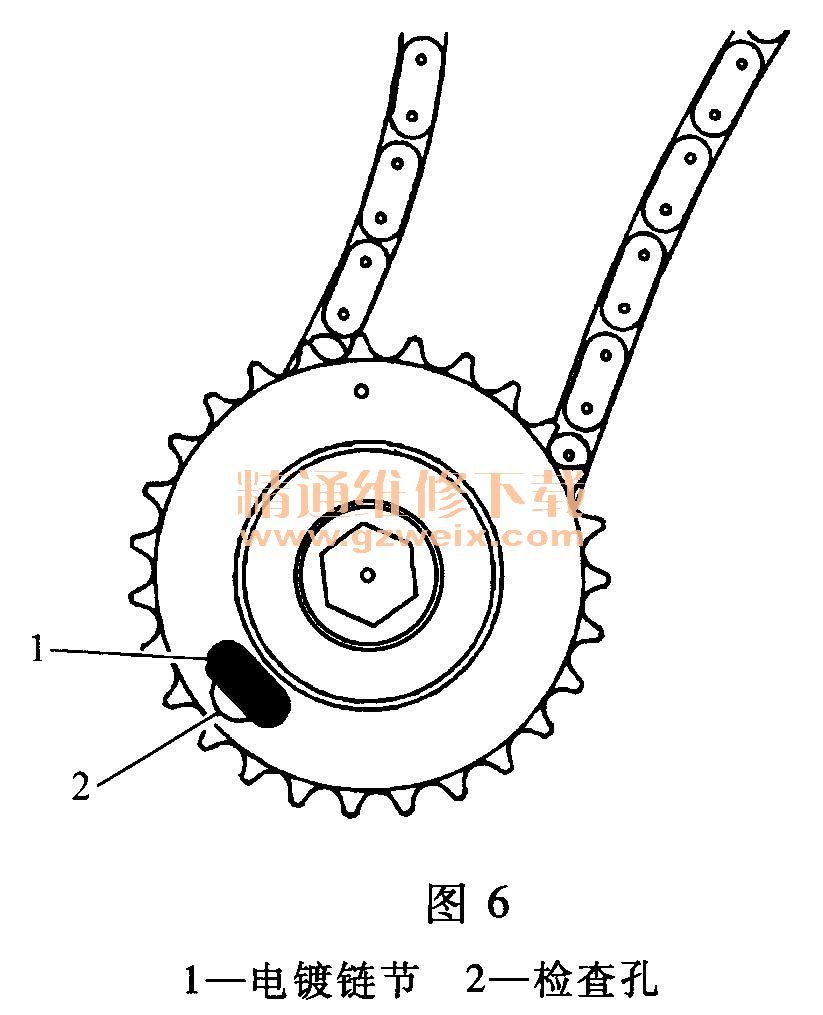 凯迪拉克cts(3. 6l ly7)发动机正时校对方法