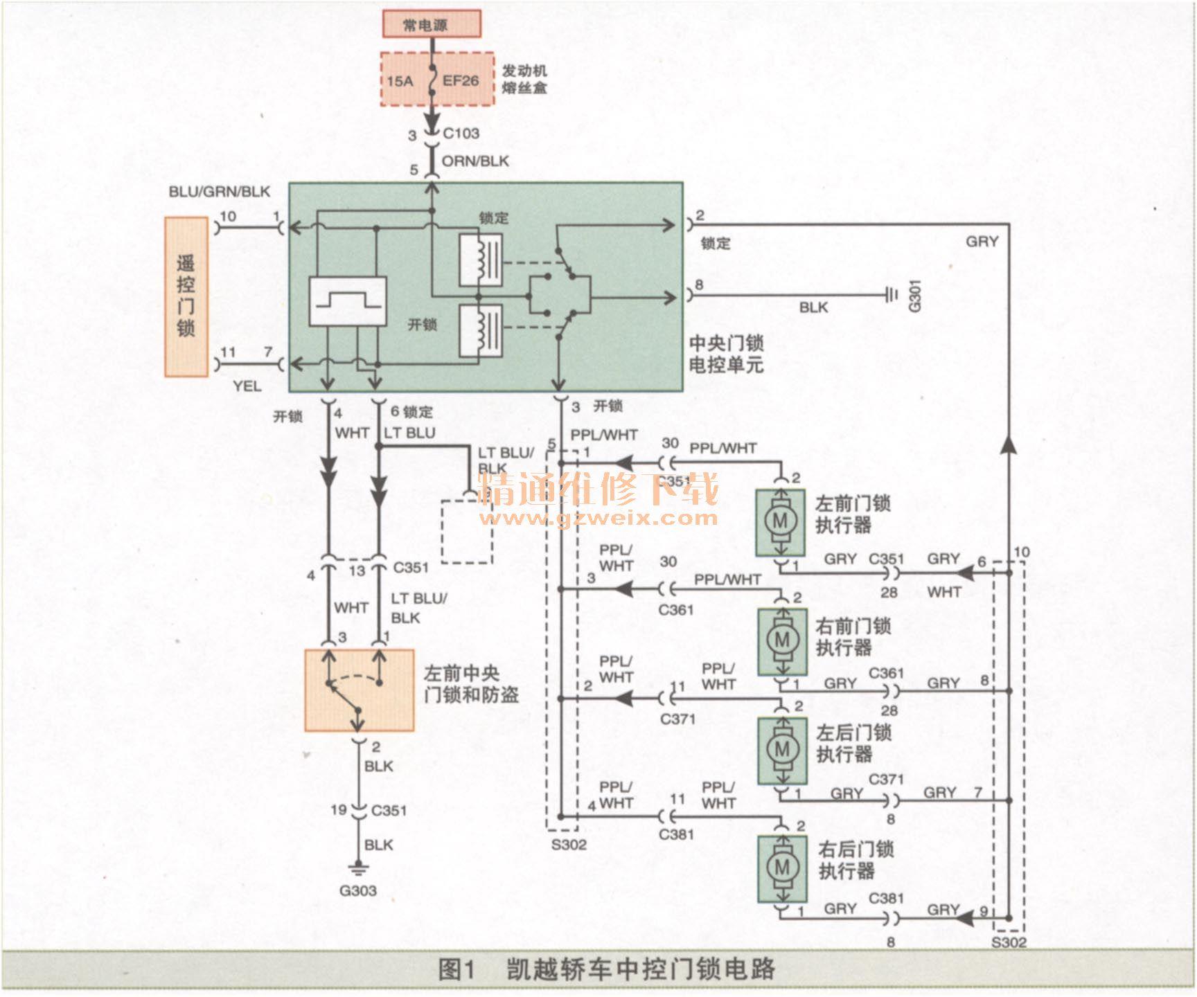 室内装修电路接线图