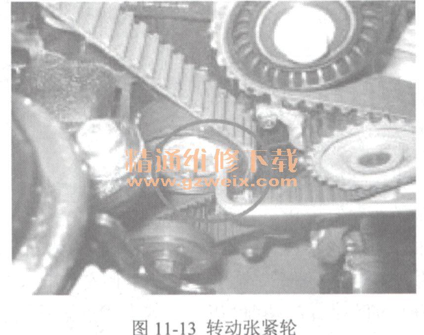 奇瑞qq6(sqr472f/sqr484b型发动机)正时校对方法