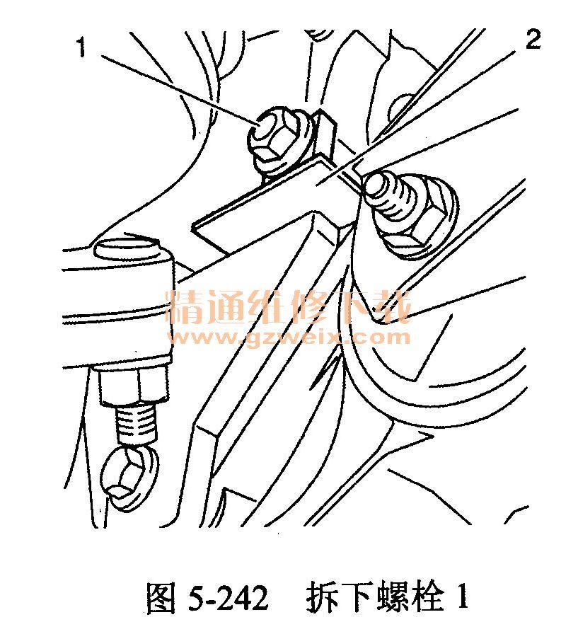 雪佛兰科鲁兹(lxv 1.6 l型发动机)正时校对方法