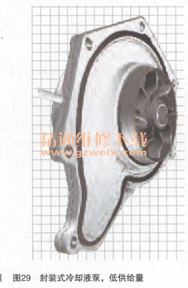 概述现代汽车冷却系统控制原理 九高清图片