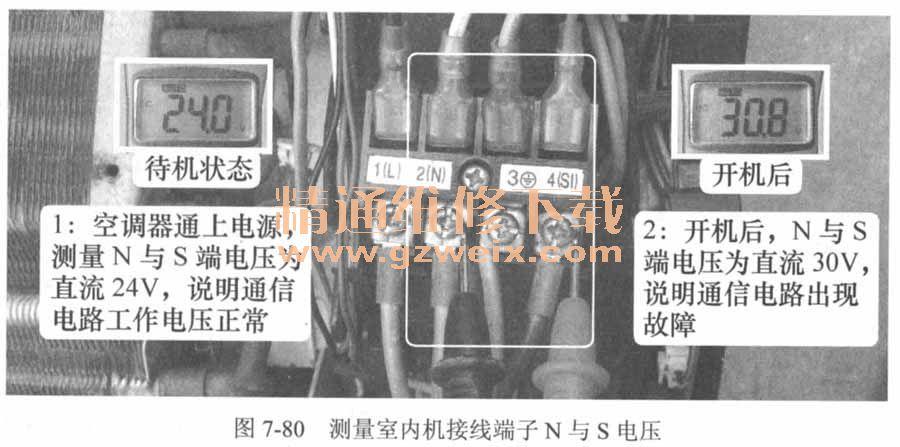 海信空调外机接线图-看图学习维修空调器电路板 下图片