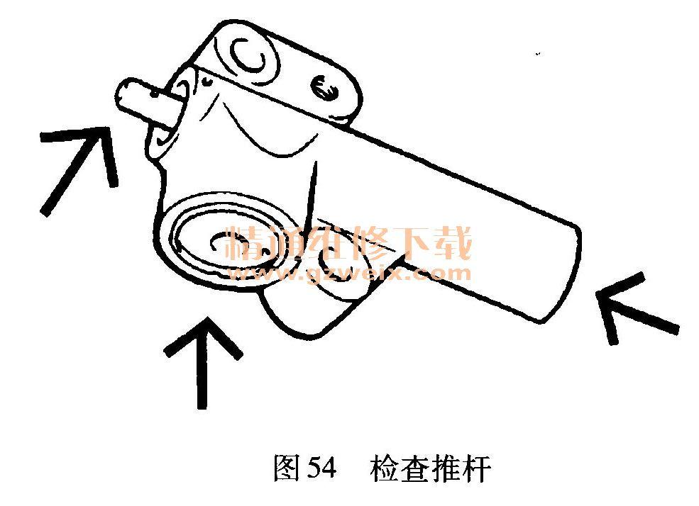 现代圣达菲 santa fe 2.4l gus发动机正时校对方法 高清图片