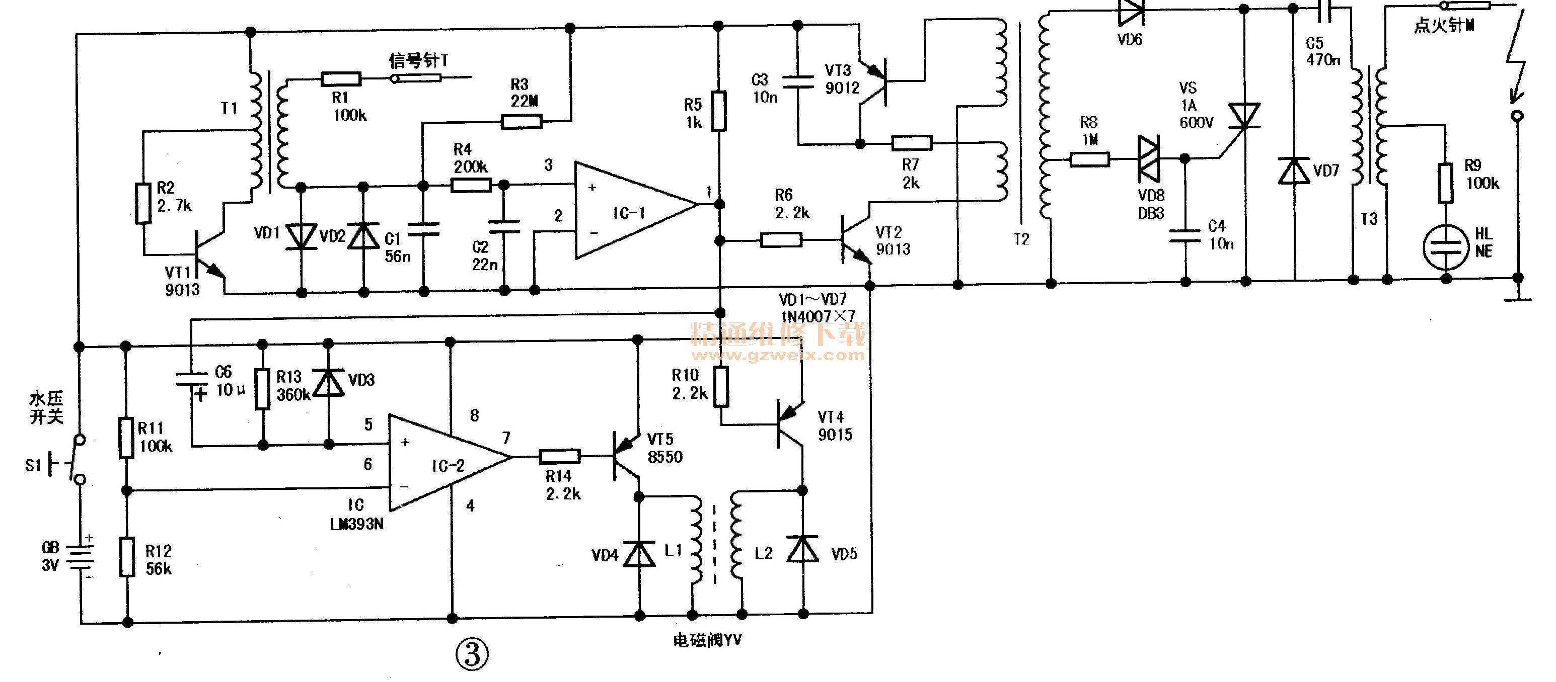 电路 电路图 电子 原理图 3091_1356