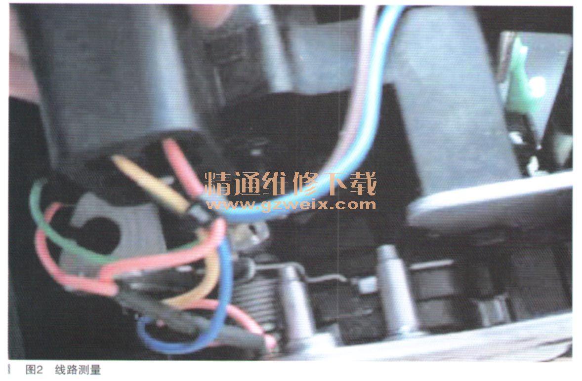 别克GL8商务车电动中门不工作高清图片