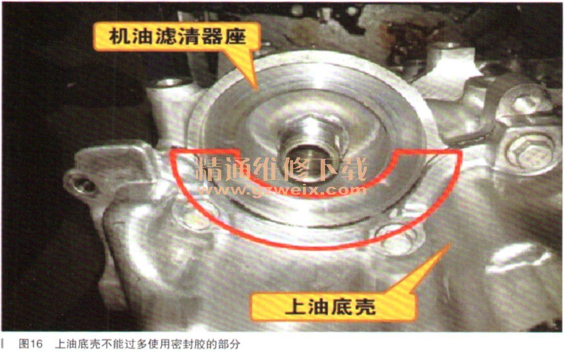 LE2发动机的水泵壳体上集成了电子节温器,机油散热器及流向涡轮高清图片
