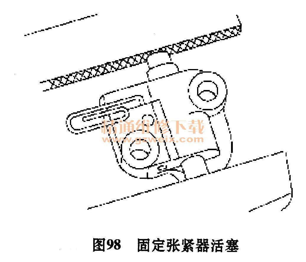 福特翼虎ve6 3. 0l发动机正时校对方法