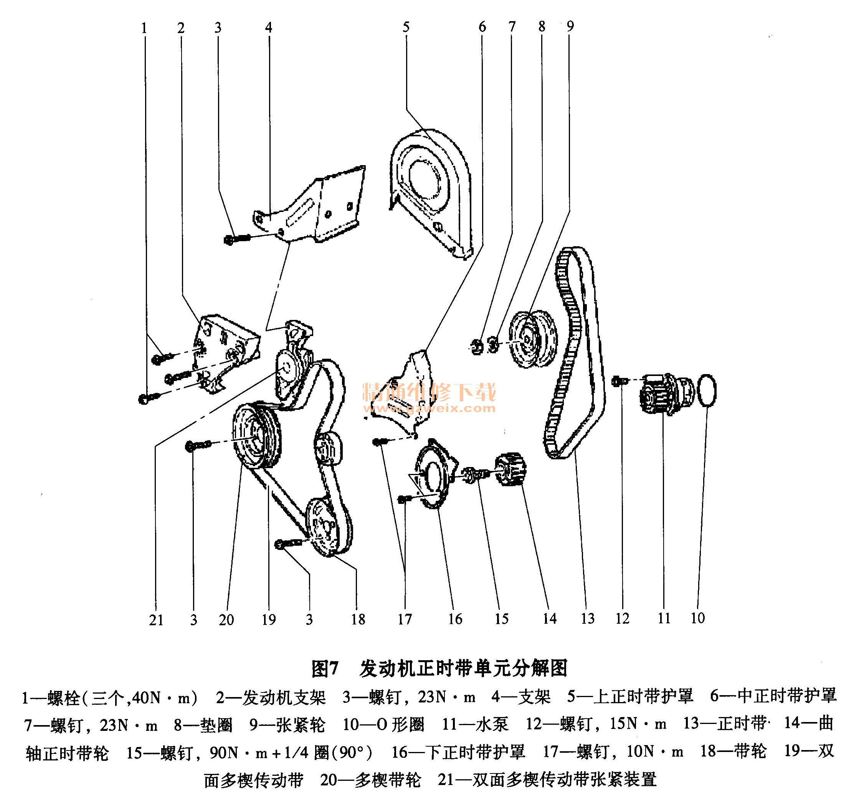 6l发动机正时校对方法