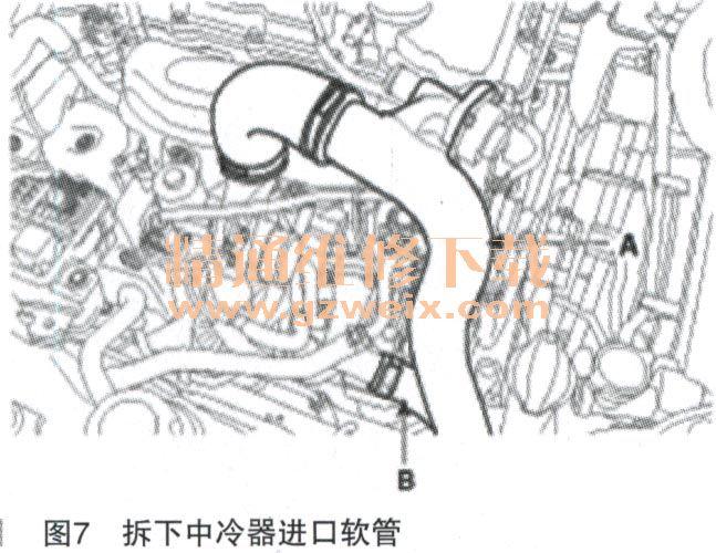 2013款现代劳恩斯酷派2.0 t g4kf发动机正时校对方法高清图片